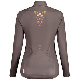 Maloja RubinieM. 1/1 Long Sleeve Bike Jersey Women, gris